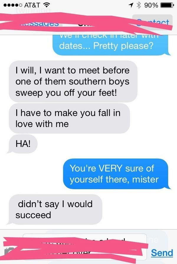 how to ask a guy where you stand over text